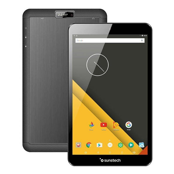 TABLET SUNSTECH TAB88QCBT - QC 1.3GHZ - 1GB RAM - 16GB - 8'/20.3CM 1280*800 - ANDROID 6.0.1 - CAM VGA/2MPX - BT4.0 - BAT 3500MAH - JSVnet