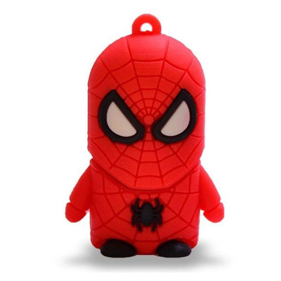 PENDRIVE TECH ONE TECH HÉROES SÚPER SPIDER 16GB USB 2.0 - JSVnet