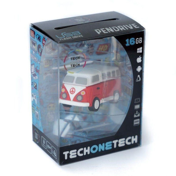 PENDRIVE TECH ONE TECH HIPPY VAN BANG CAMPER 16GB USB 2.0 - JSVnet