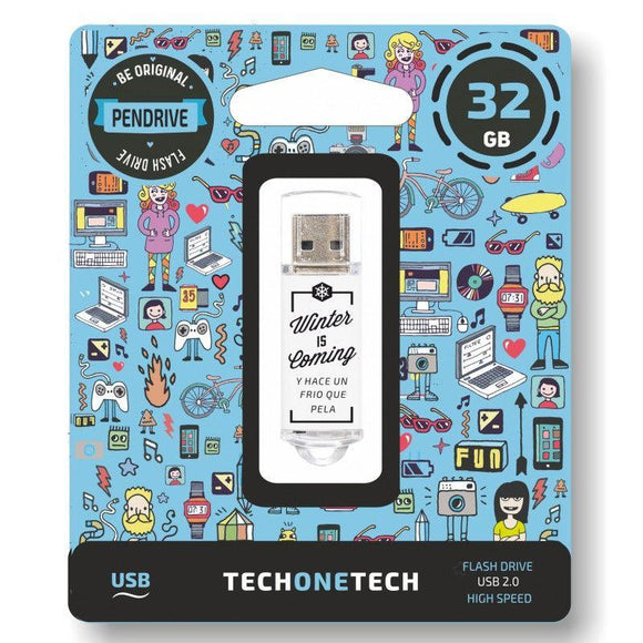 PENDRIVE TECH ONE TECH WINTER IS COMING 32GB USB 2.0 - JSVnet