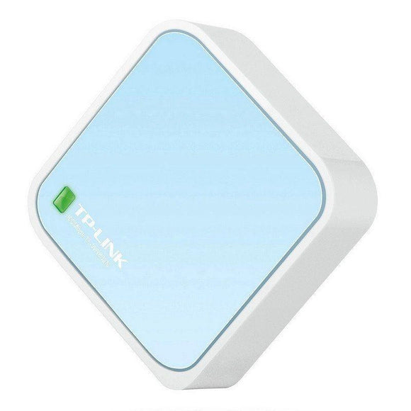 ROUTER INALÁMBRICO TP-LINK TL-WR802N - NANO N 300MBPS - 1*WAN/LAN 10/100MBPS - ALIMENTACIÓN MICRO USB - JSVnet