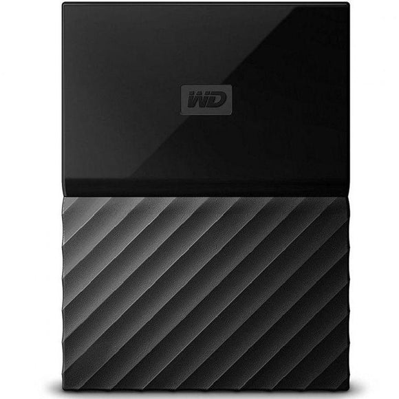 DISCO DURO EXTERNO WESTERN DIGITAL 2TB MY PASSPORT NEGRO - 2.5'/6.3CM - SOFTWARE WD BACKUP - WD SECURITY - WD UTILITIES - USB 3.0 - JSVnet