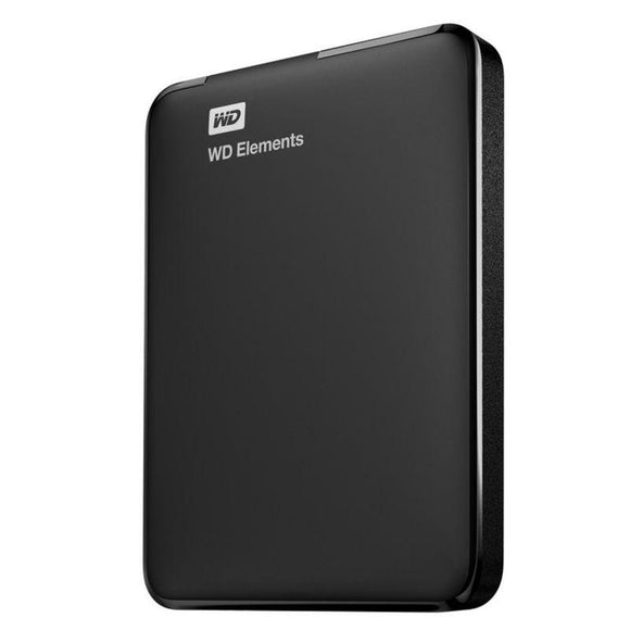 DISCO DURO EXTERNO WESTERN DIGITAL 2TB ELEMENTS PORTABLE - 2.5'/6.35CM - USB 3.0 - NEGRO - JSVnet