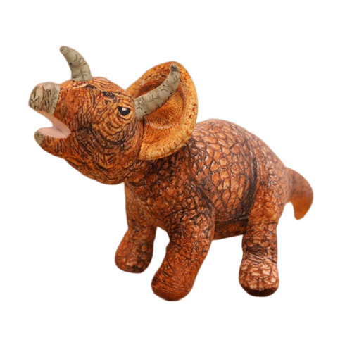Peluche Dinosaure <br> Tricératops