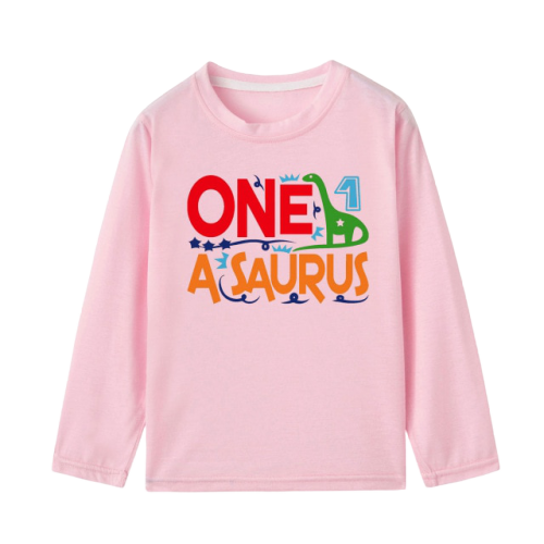 Tee-shirt Dinosaure Enfant <br> Manches Longues <br>Diplodocus 1 an