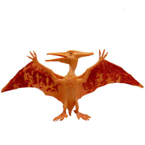 Figurine Dinosaure Ptérosaure Intrigué Orange | Dino Store
