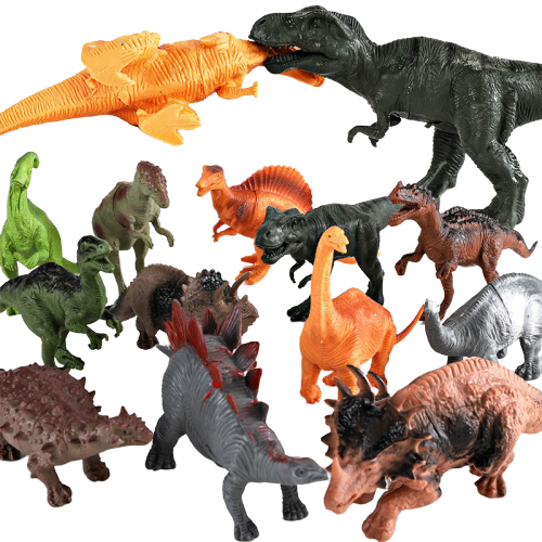 Figurine Dinosaure Royaume des Dinosaures 44 pièces | Dino Store