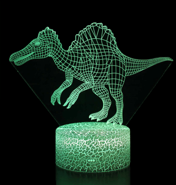 Lampe Dinosaure LED Spinosaure