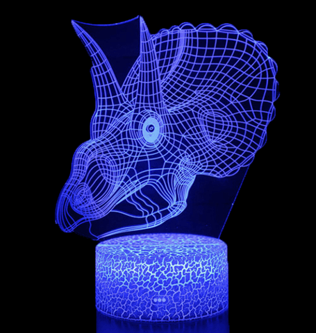 lampe-dinosaure-led-tricératops-tete