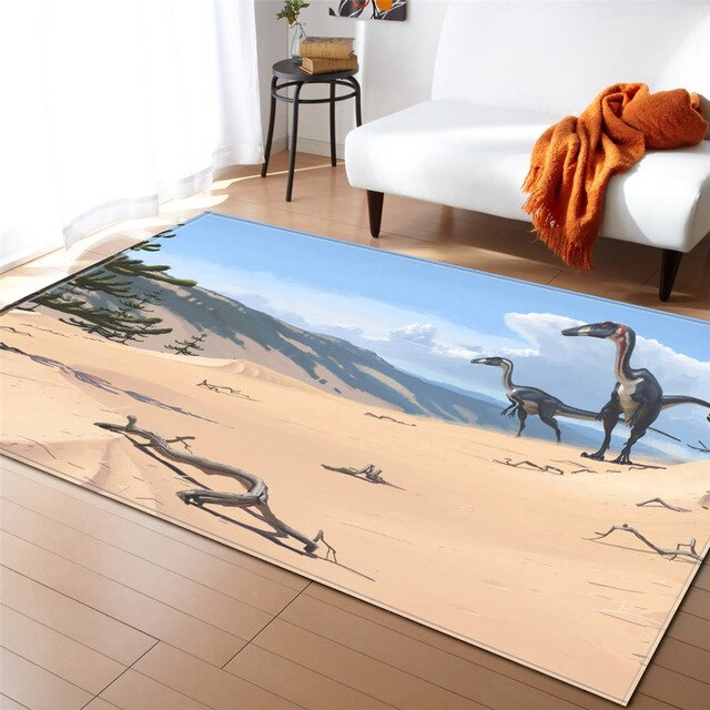 Tapis Dinosaure <br> Chasseur