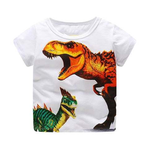 T-shirt Dinosaure Enfant Tyrannosaure Combattant | Dino Store