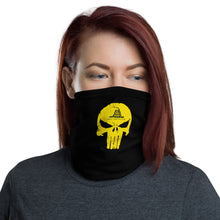 Load image into Gallery viewer, Neck Gaiter - Don't Tread on Punisher II - Black