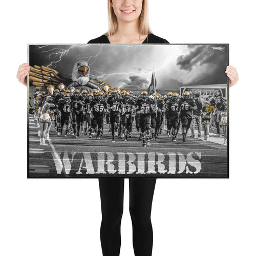 Photo paper poster - WARBIRDS Class of 2020