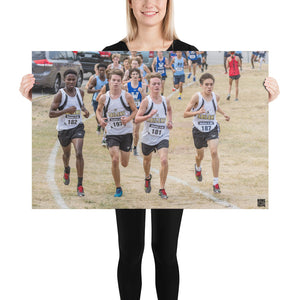 Photo paper poster - XC District Champs