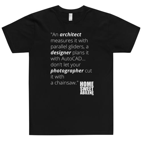 T-Shirt - Photographers with Chainsaws
