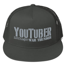 Load image into Gallery viewer, Trucker Cap - YouTuber EliteTeamJett