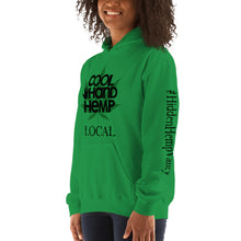 Load image into Gallery viewer, Unisex Hoodie - CoolHandHemp.com - Frt / Bck / Sleeves