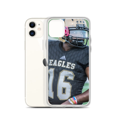 16 Davonta Mayse Close Up - iPhone Case