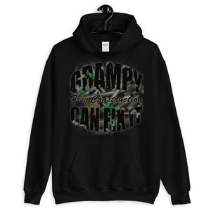 Unisex Hoodie - Grampy Can Fix It - black letters