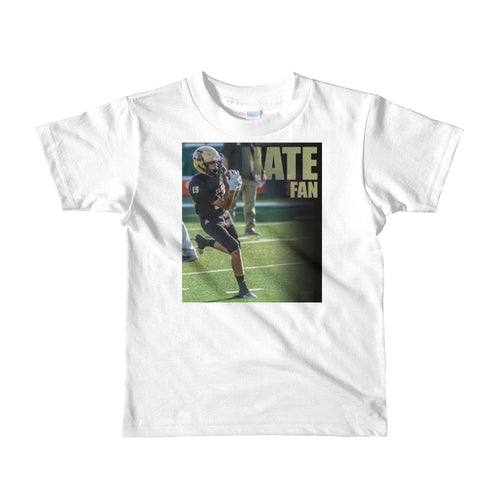 19 Nate Seballos Fan - Short sleeve kids t-shirt