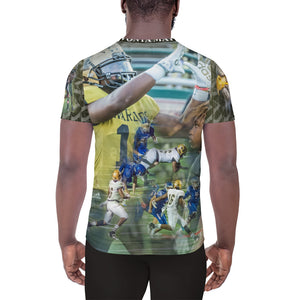 16 Davonta Mayse - All-Over Print Men's Athletic T-shirt