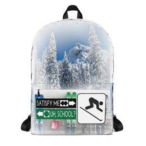 "Backpack // VLR ""Love to Ski!"""
