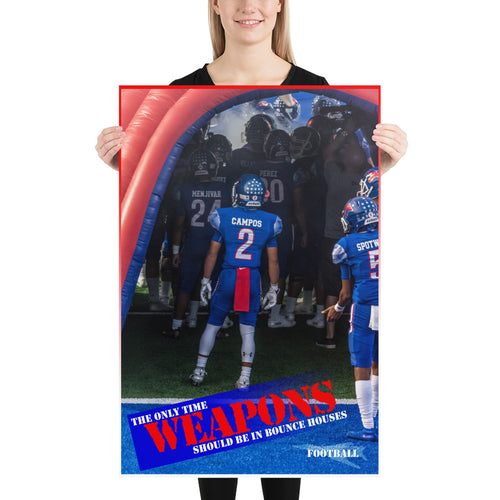 Photo paper poster - Daelin Campos WEAPONS