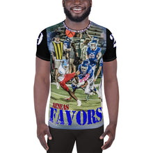Load image into Gallery viewer, All-Over Athletic T-shirt - AENEAS FAVORS