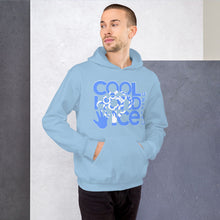 Load image into Gallery viewer, Unisex Hoodie - Cool Hand Ice // blue