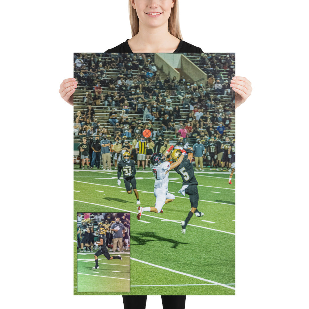 Photo paper poster - Joseph Woodyard