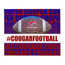 Load image into Gallery viewer, #CougarNation - Throw Blanket