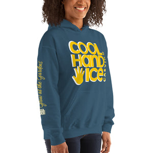 "Unisex Hoodie - Cool Hand Ice ""Glow at the Gardens"""