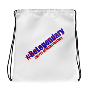 BeLegendary Cooper White - Drawstring bag