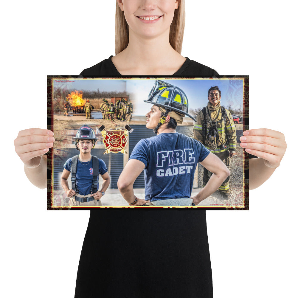 Photo paper poster - Joseph Martinez FD 2020