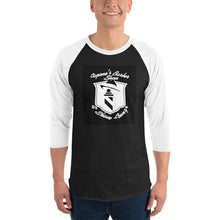 Load image into Gallery viewer, 3/4 sleeve raglan shirt - Capone's Barber Shop & Shave Lounge