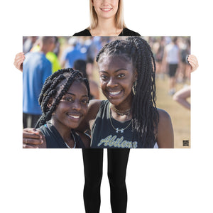 Photo paper poster - XC Varsity Girls 2019