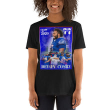 Load image into Gallery viewer, Short-Sleeve Unisex T-Shirt - DEVON COSBY 77