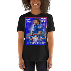 Short-Sleeve Unisex T-Shirt - DEVON COSBY 77
