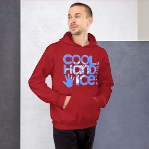 Unisex Hoodie - Cool Hand Ice // blue