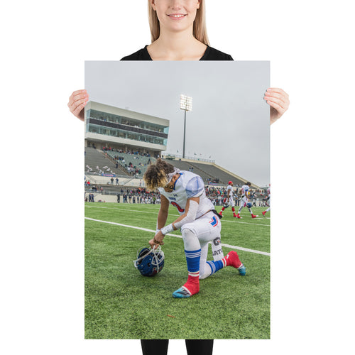 Photo paper poster - Noah Garcia Record Breaker