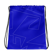 Load image into Gallery viewer, Turn It Up! Blue - Drawstring bag