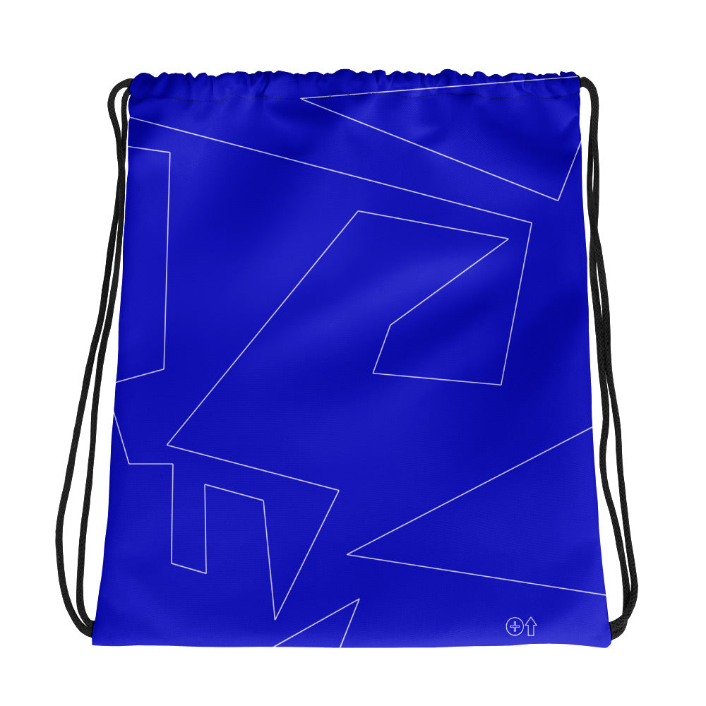 Turn It Up! Blue - Drawstring bag