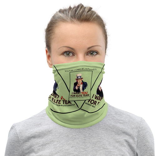 Neck Gaiter - Uncle Sam Elite Team