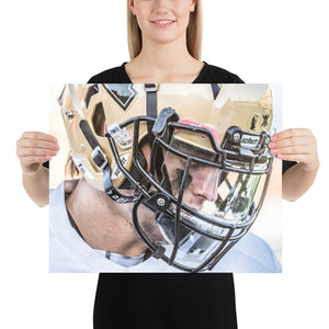 Photo paper poster - Luke Tebow