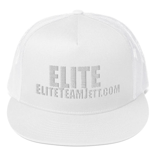 Trucker Cap - ELITE white stitch