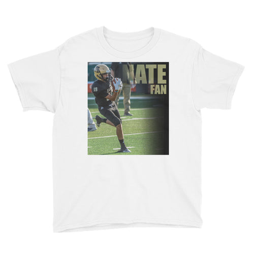 19 Nate Seballos Fan - Youth Short Sleeve T-Shirt