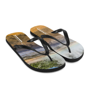 Flip-Flops - Grand Prismatic Spring Yellowstone National Park