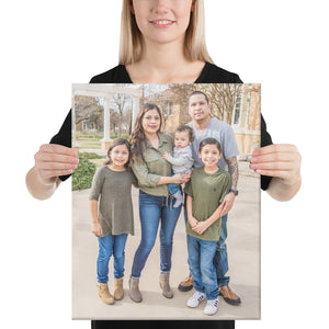 Canvas Torres Family Photos 16x20 / 8x10
