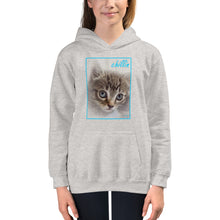 "Load image into Gallery viewer, Kids Hoodie // VLR ""Chillin"""