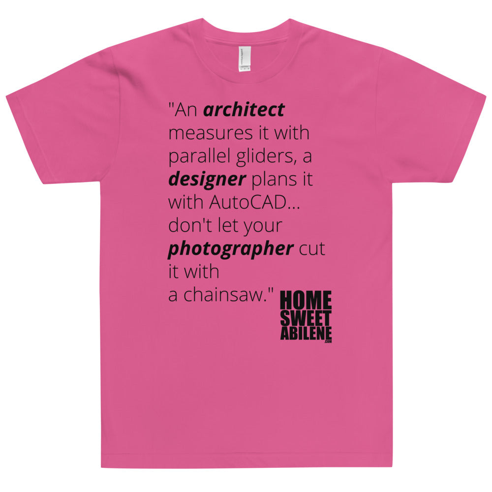 T-Shirt - Photographers with Chainsaws Blk